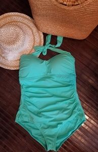 Like New Tommy Bahama Halter Swimsuit (10)